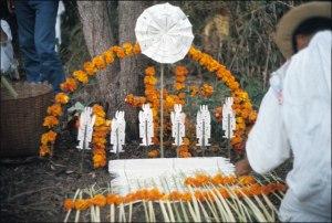 Nahua Altar in Preparation, 1970