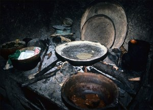 Nahua Cooking Fire, 1985