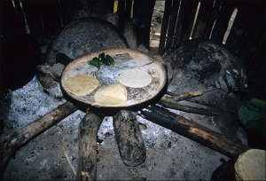Nahua Cooking Fire, 1985 (2)