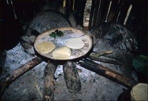 Nahua Cooking Fire, 1985 (2)